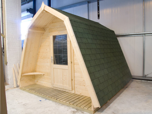 camping pods prototype