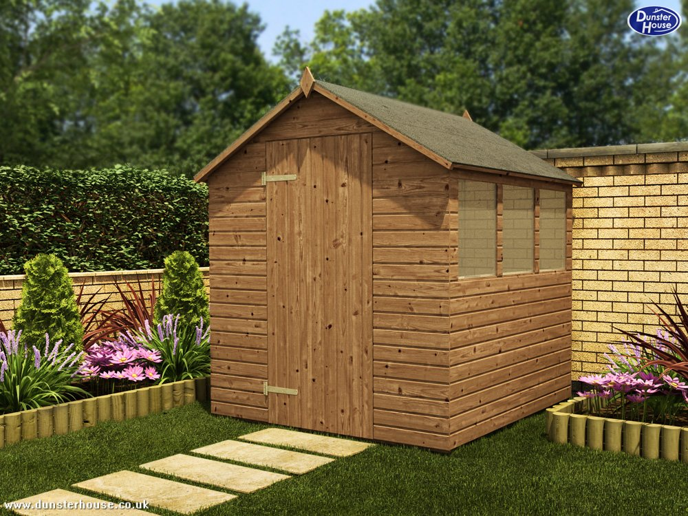 adam pressure treated shed