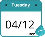 eco delivery sign