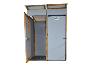 Latrine superstructure emergency relief sanitation dunster house humanitarian product range