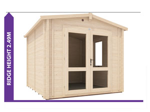 Avon Insulated Log Cabin Avoid Planning Permission