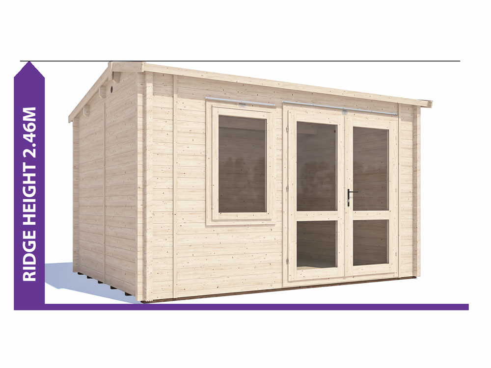 Carsare Insulated Log Cabin Avoid Planning Permission