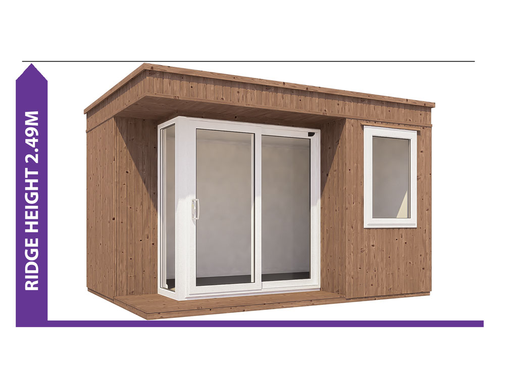 Garden Offices Avoid Planning Permission Kratos 3827 LR