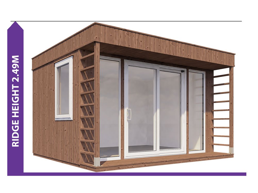 Garden Offices Avoid Planning Permission Krios 3833