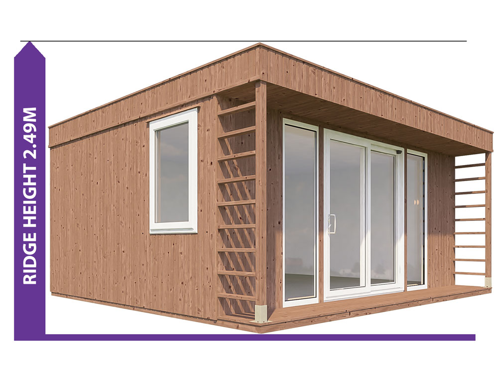 Garden Offices Avoid Planning Permission Krios 5045