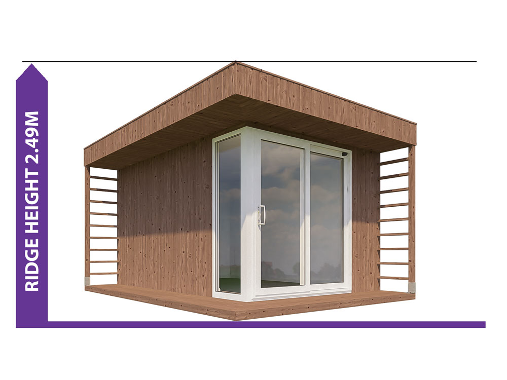 Garden Office Height 19