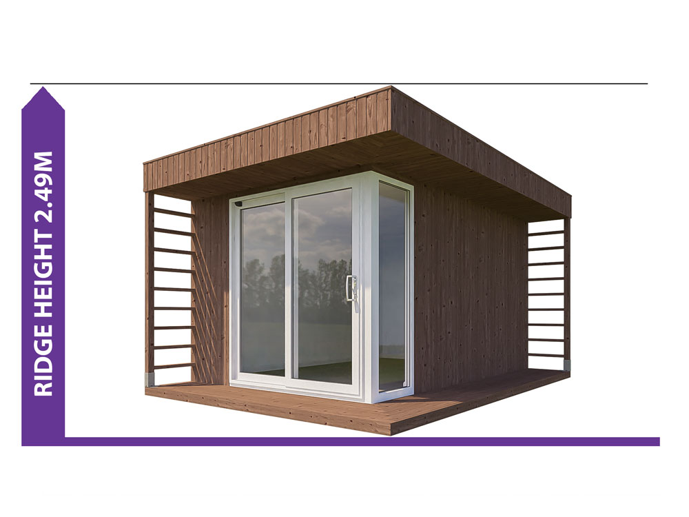 Garden Office Height 20