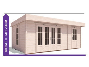 Avoid Planning Permission BundleDuck Log Cabin 5.9x3.8