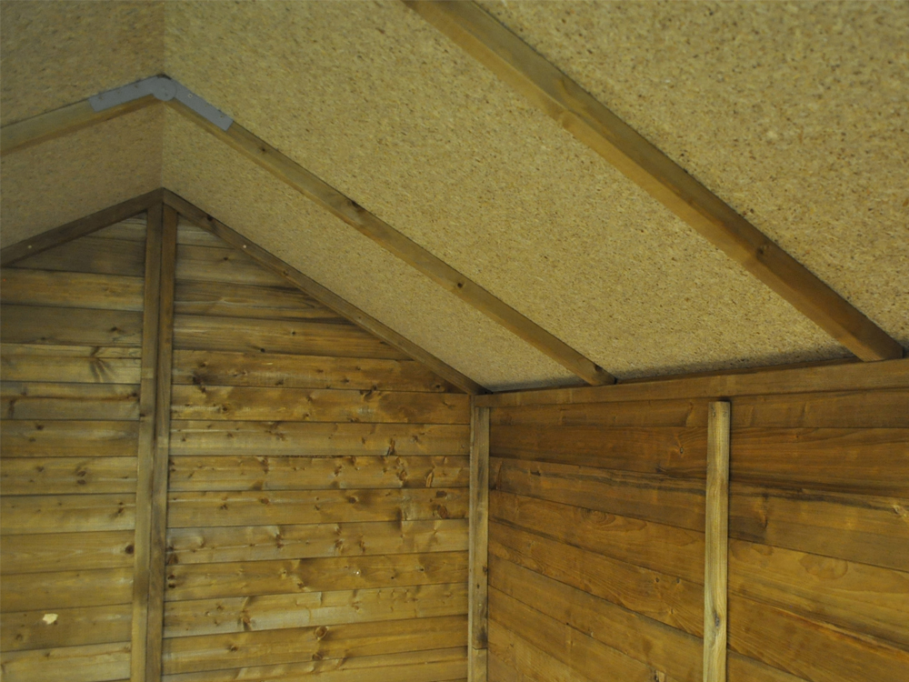 wooden shed interior