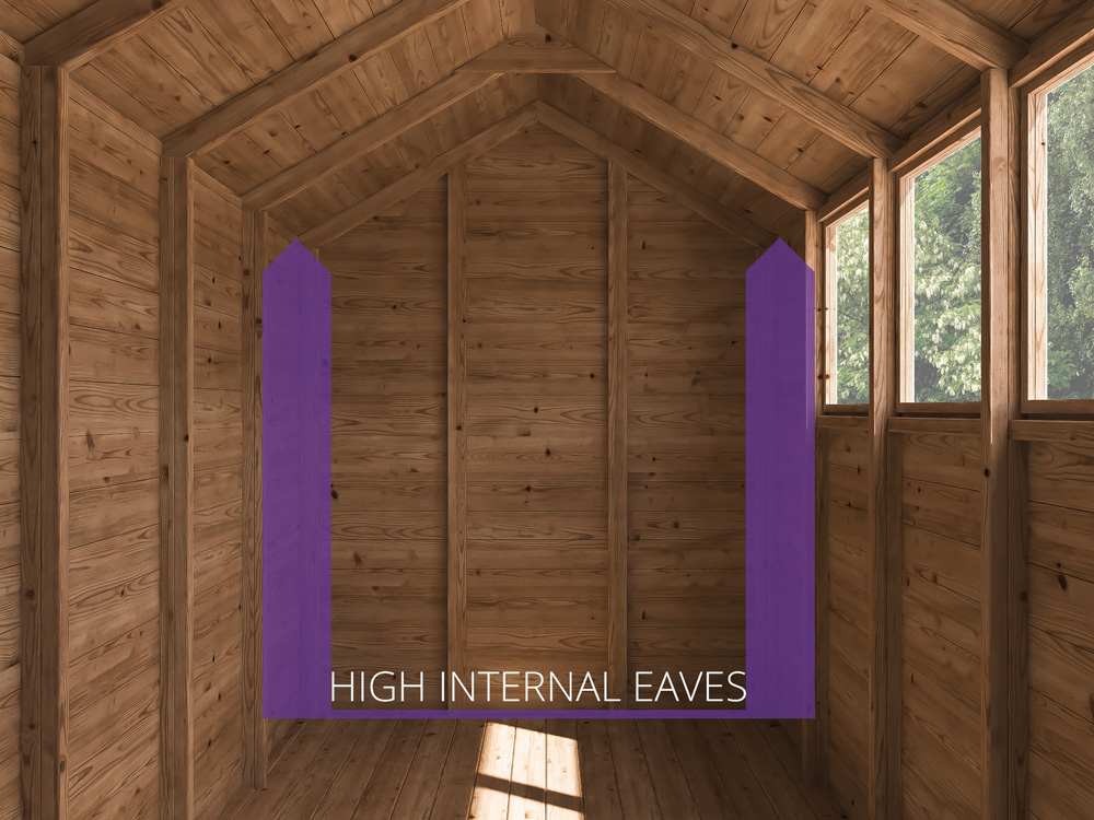 Sheds & Storage High Internal Eaves Finli