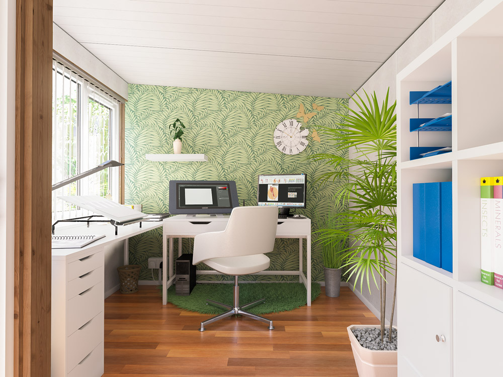 Decorating Your Garden Office Dunster House Blog