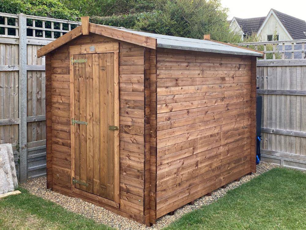 How to Waterproof Your Shed - Wooden Garden Shed Dunster House Taarmo