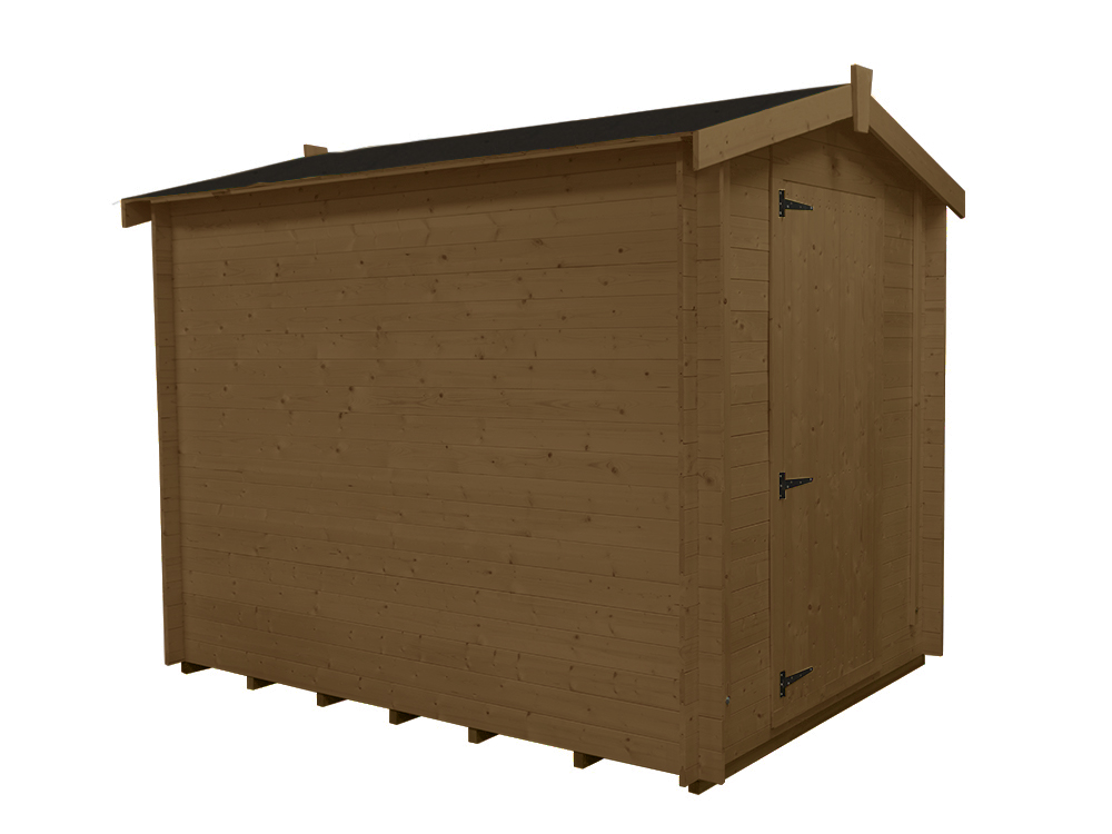 Sheds & Storage Log Shed Tongue And Groove Walls II