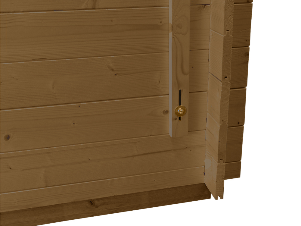 Sheds & Storage Log Shed Tongue And Groove Walls