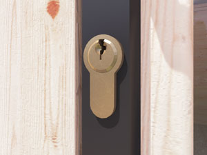 Summerhouses Strong Cylinder Lock