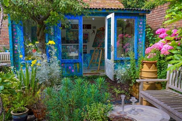 Shed of the Year Lantera Cabin Artist Mary Price Bristol