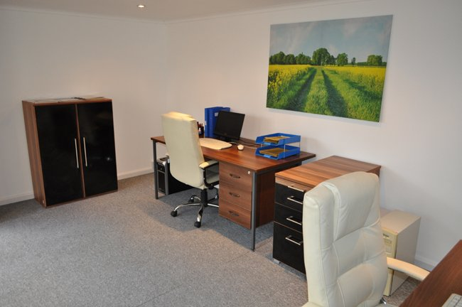 interior image of garden office customer photo dunster house