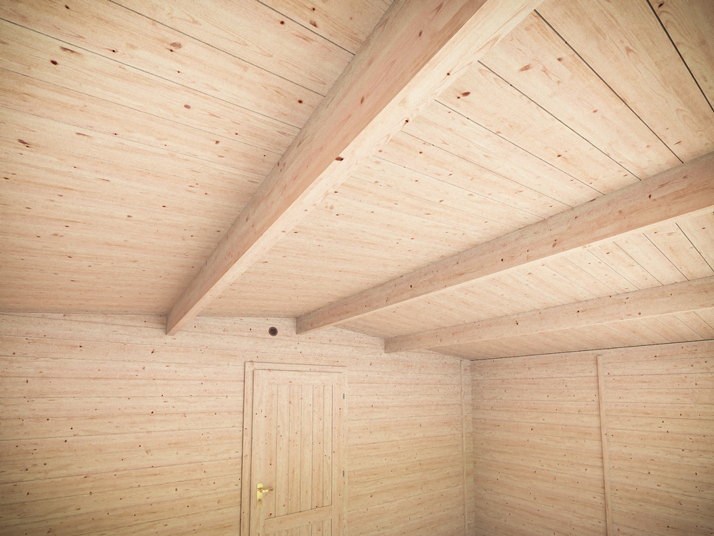 Severn Grande Insulated Log Cabin Avoid Sagging Roof