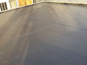 Garden Offices EPDM Roofing