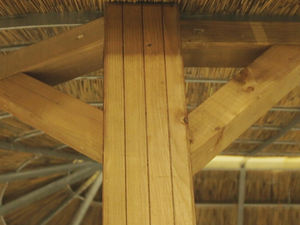 Thatched Gazebos Extra Strong Posts (Square)