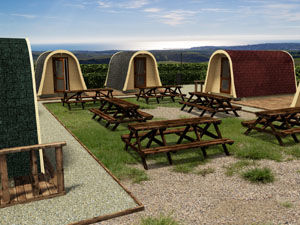 Outdoor Living Camping Pods Standard Commercial and Personal Use II