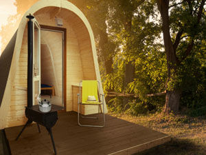 Outdoor Living Camping Pods Standard Commercial and Personal Use