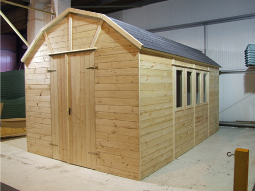 dutch barn shed prototype