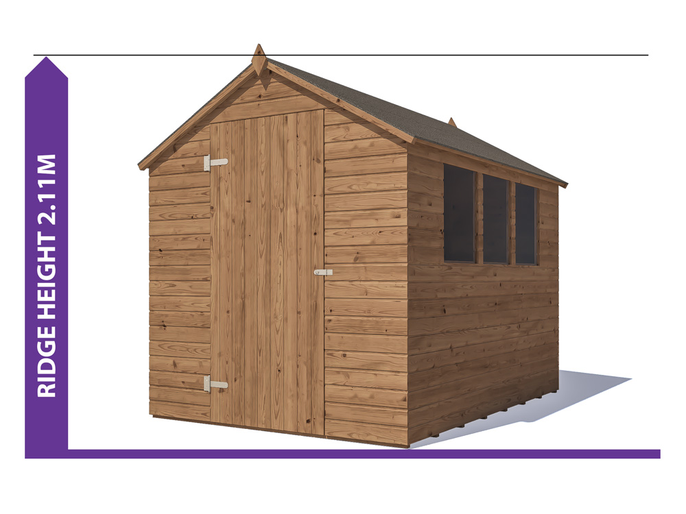 Sheds & Storage Avoid Planning Permission Adam II