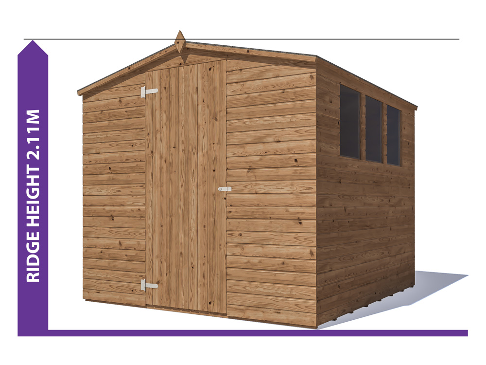 Sheds & Storage Avoid Planning Permission Adam III