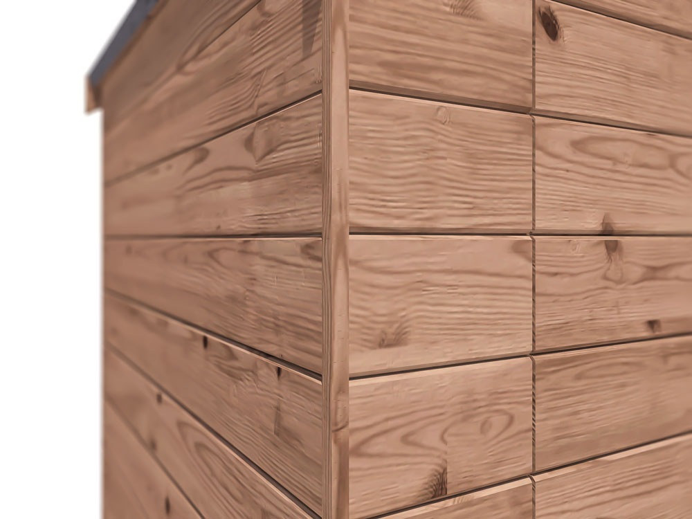 Sheds & Storage Sheds 15mm Shiplap Cladding Bike Shed II