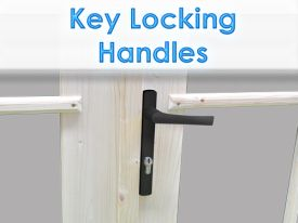 Dunster House Windors Doors secure safety locks handles