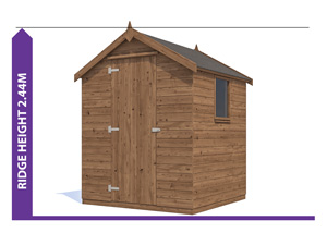 Sheds & Storage Avoid Planning Permission Finli 1.8x1.8