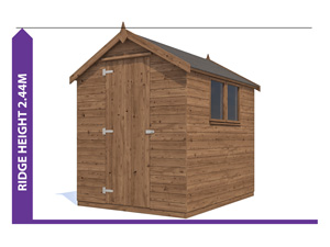 Sheds & Storage Avoid Planning Permission Finli 1.8x2.4