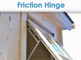 Dunster House Windors Doors Friction Hinges Steel