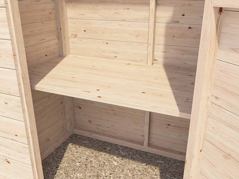 Sheds & Storage Sheds Customisable Shelf Talia Garden Tool Shed