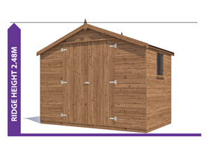 Sheds & Storage Avoid Planning Permission Latli 3.0x1.8