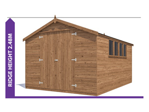 Sheds & Storage Avoid Planning Permission Latli 3.0x4.2