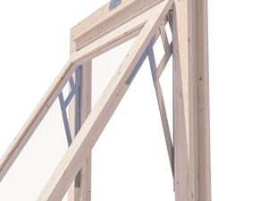 log cabin adjustable friction stays for windows