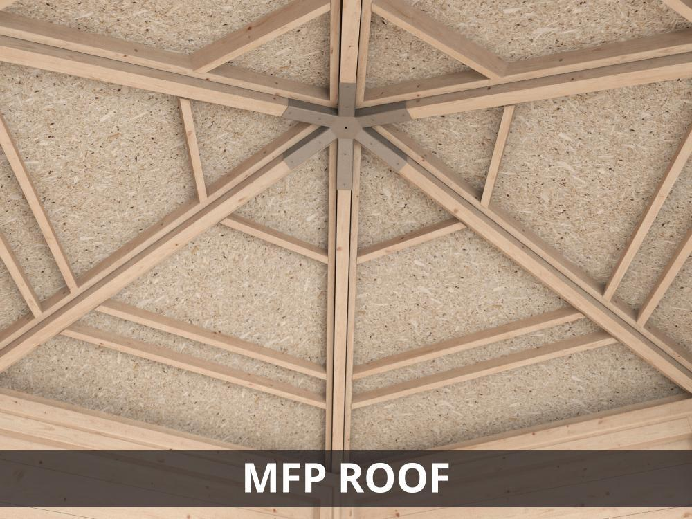 MFP roof summerhouse