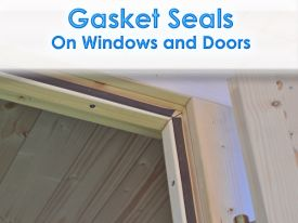 Dunster House Windors Doors single gasket seals