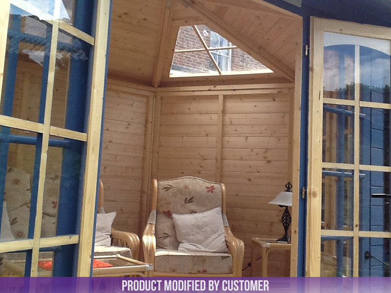 Summerhouse with Customer Sunroof Modification