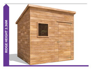 AVOID PLANNING PERMISSION ThunderRoof Harry Shed