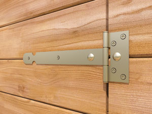 Shed Secure Hinge
