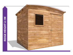 Avoid Planning Permission Shed ThunderRoof Tom Shed
