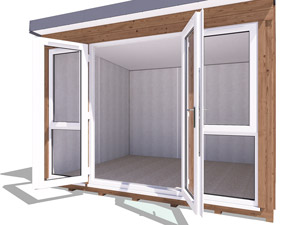 Wide-Opening French Doors Titania 3.3x2.7