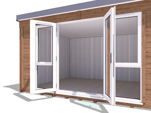 Wide-Opening French Doors Titania 4.3x3.3