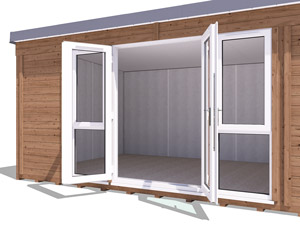 Wide-Opening French Doors Titania 5.4x3.3