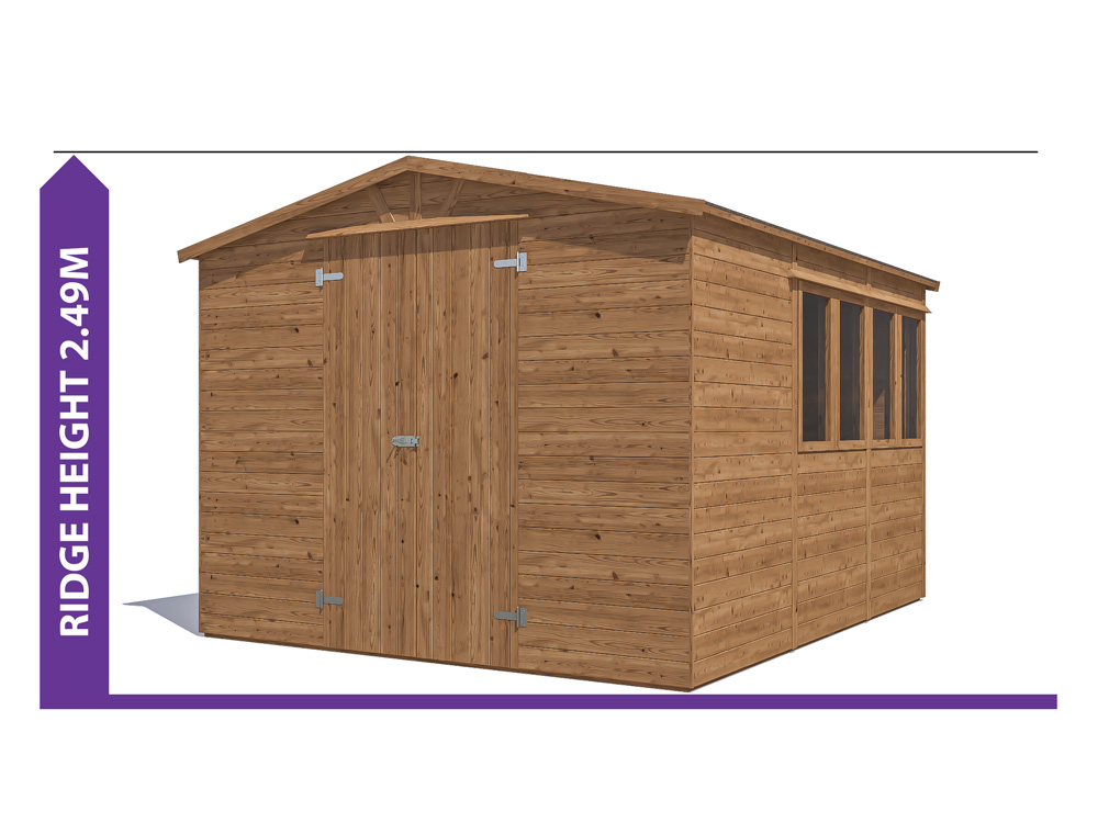 Sheds & Storage Avoid Planning Permission Yankee B Low