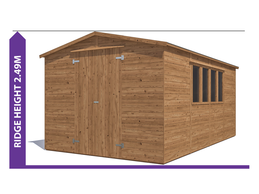 Sheds & Storage Avoid Planning Permission Yankee C Low