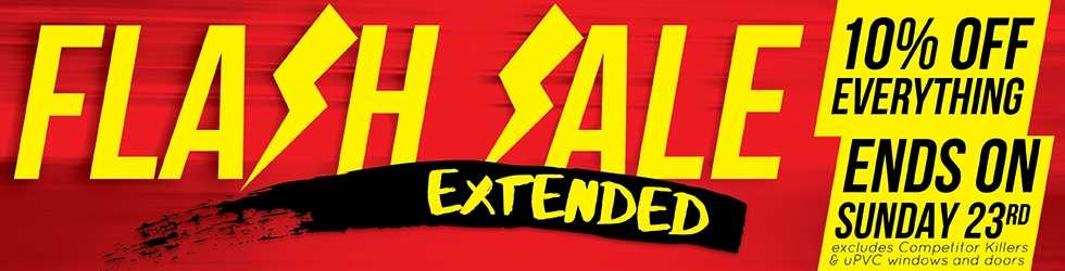 Flash Sale Extended Amended 14.10.16